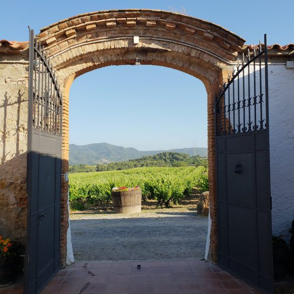 Masia Can Canyes gate