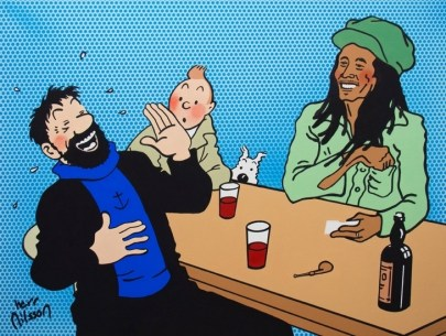 haddock__tintin_and_bob_marley