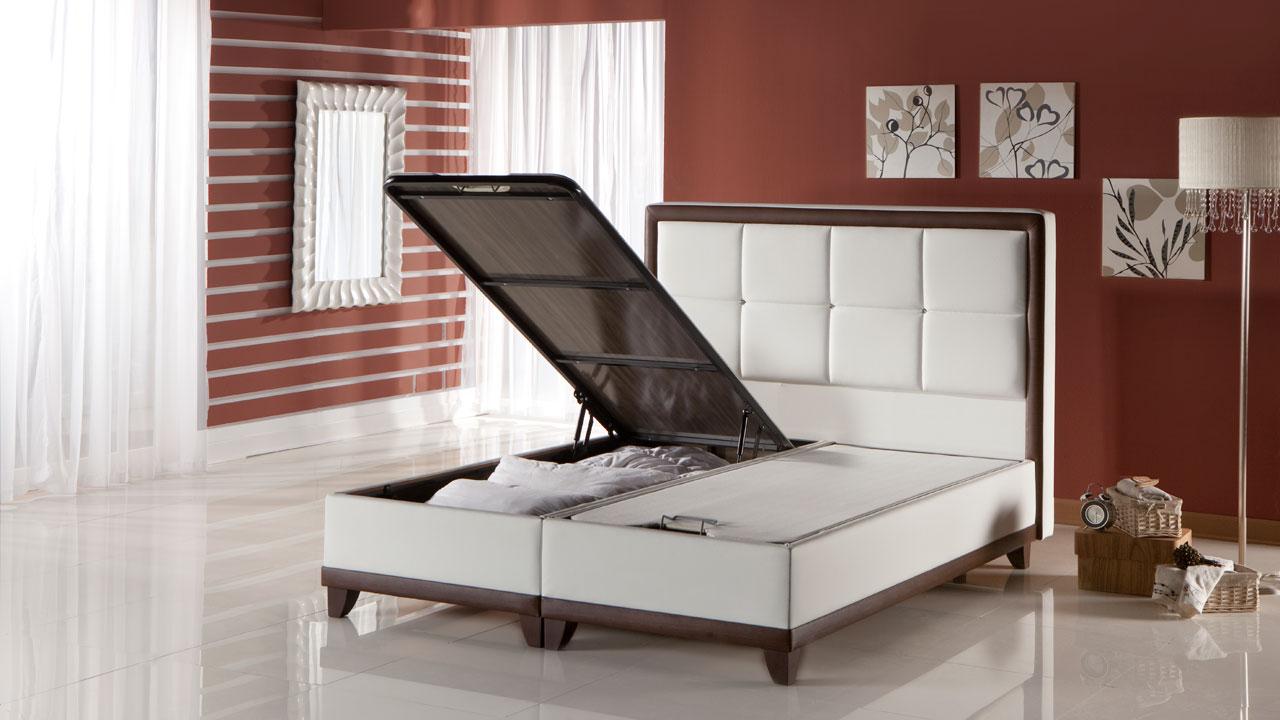 Class Seng Med Opbevaring 120x200 Cm Basic Furniture Aps