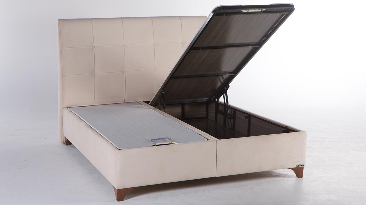 Elit Seng Med Opbevaring 120x200 Cm Basic Furniture Aps