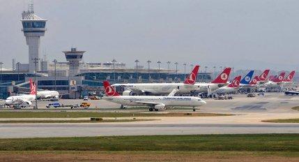 مطار اتاتورك في تركيا