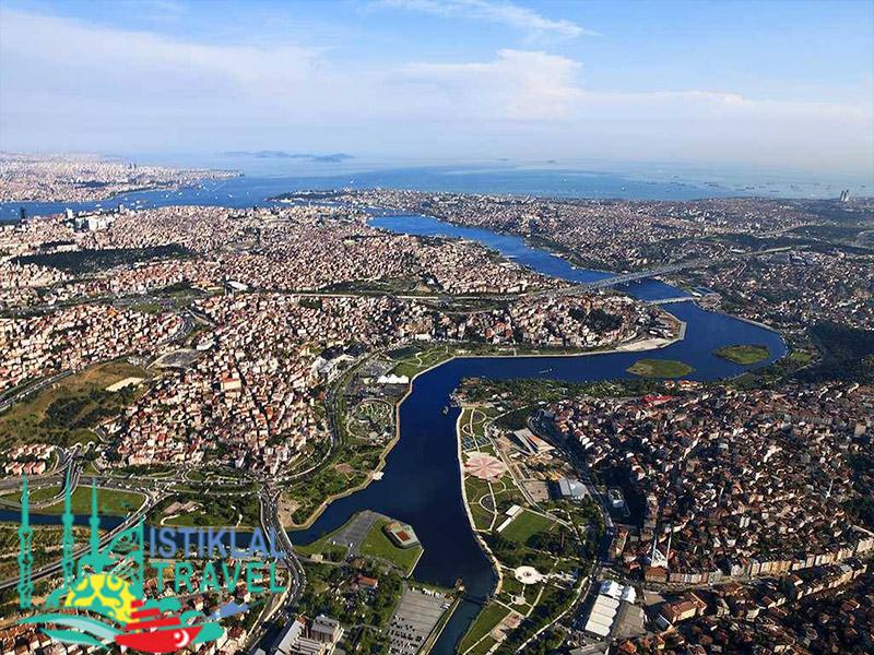 القرن الذهبي في تركيا اسطنبول