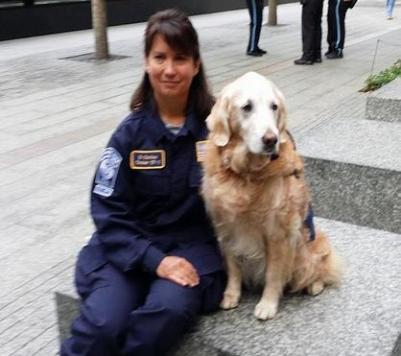 last surviving 9/11 search dog