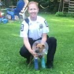 Good Cops! Columbus Officers Adopt the Puppies They Saved