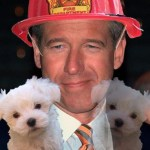 Did Brian Williams Really Save Pup(s) from a Fire as He Claimed To?