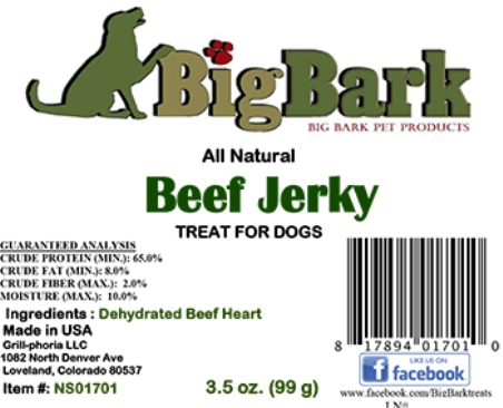 big bark jerky treats recall