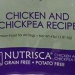 RECALL ALERT: Nutrisca Chicken and Chick Pea Recipe Dry Dog Food