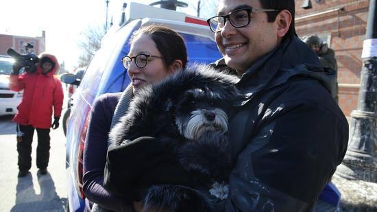tomita with dog stolen in day care van