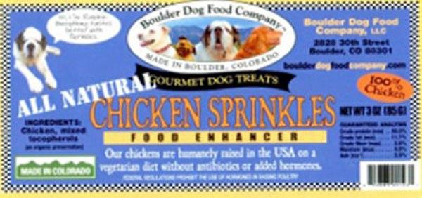 Chicken Sprinkles Food Enhancer recall