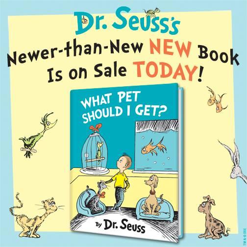 What Pet Should I Get by Dr. Seuss
