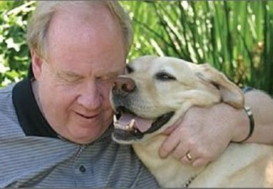 guide dog led blind man 9/11