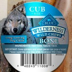 RECALL ALERT: Blue Buffalo Wilderness Wild Chews Bones