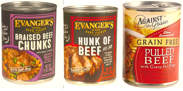 Evanger's Dog Food recalled for euthansia drugs March 2017