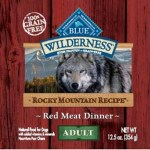 RECALL ALERT: Blue Buffalo BLUE Wilderness Rocky Mountain Recipe Red Meat Dinner