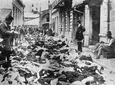 Devastirani srpski objekti u Sarajevu 1914.