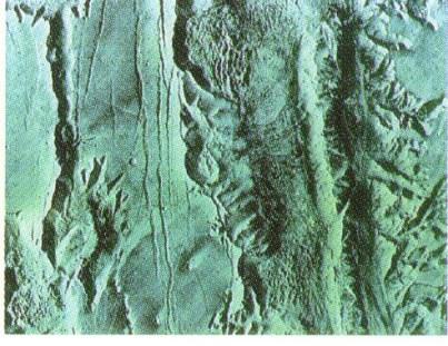 Образование осадочных пород и наводнение на Марсе?