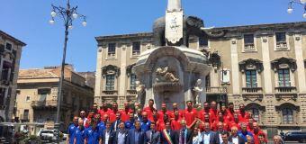 Presentazione ufficiale del Calcio Catania a Palazzo degli Elefanti
