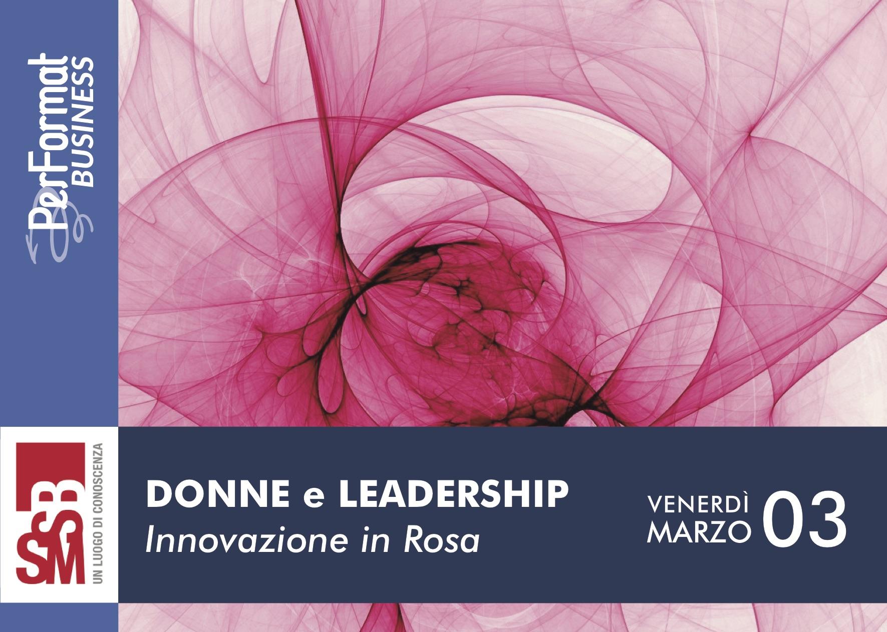 Donne e Leadership - Invito 1
