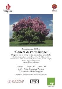Genere e Formazione - Locandina 27 giugno 2017