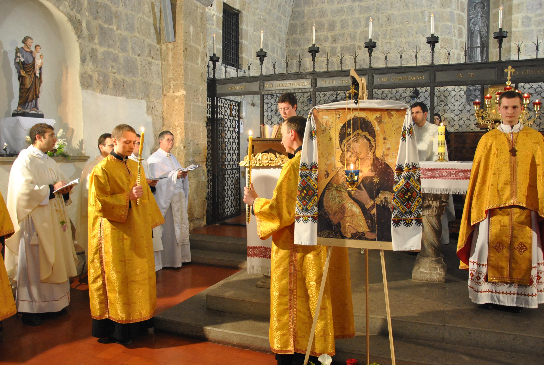 Messa in rito bizantino