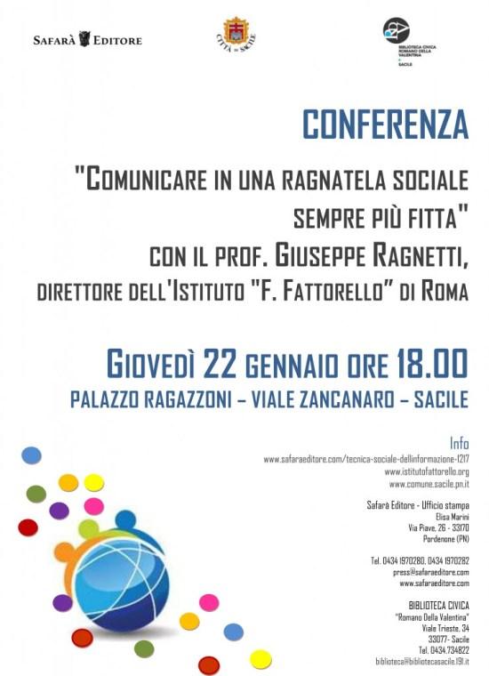 Conferenza a Sacile 2015