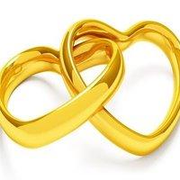 δακτυλίδια ένωση αρραβώνας γάμος