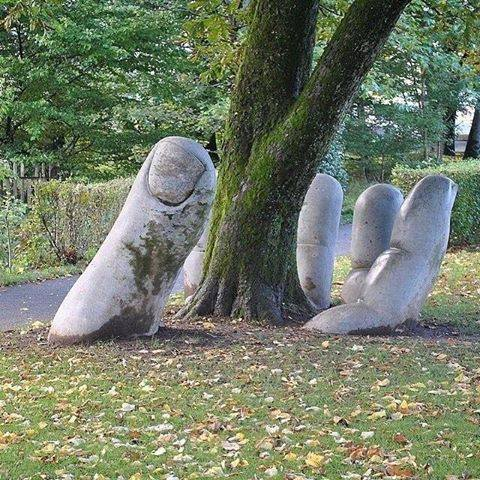 caring-hand-sculpture
