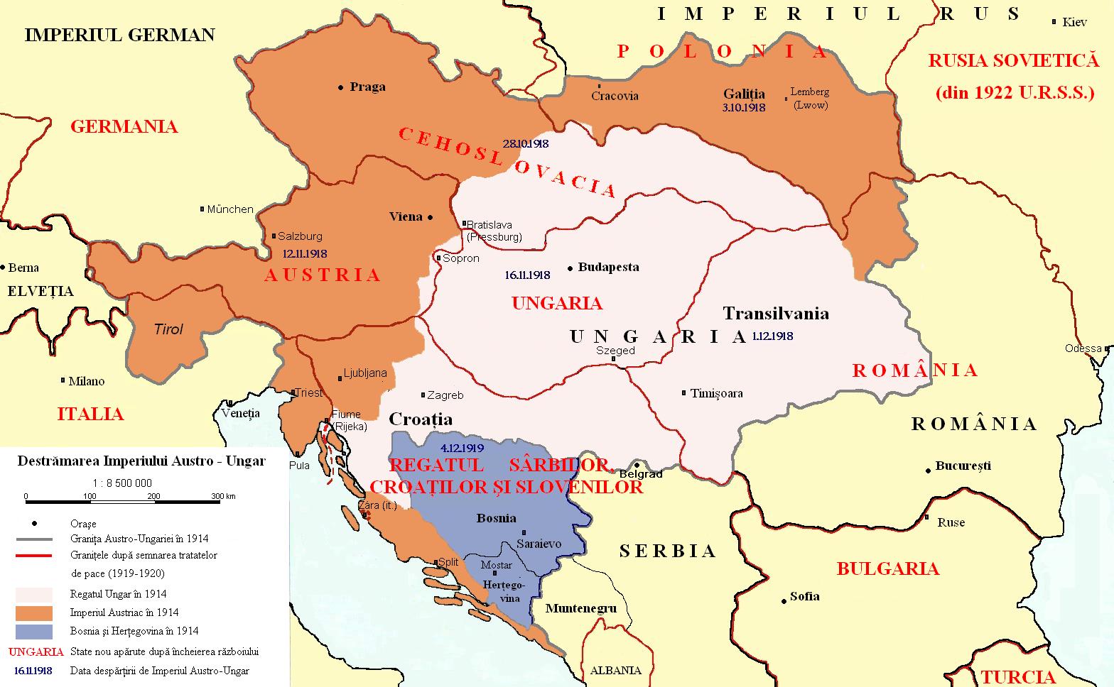 Image result for harta imperiu austro ungar