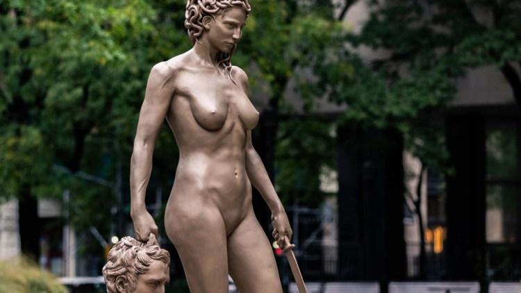 Medusa di Luciano Garbati a New York