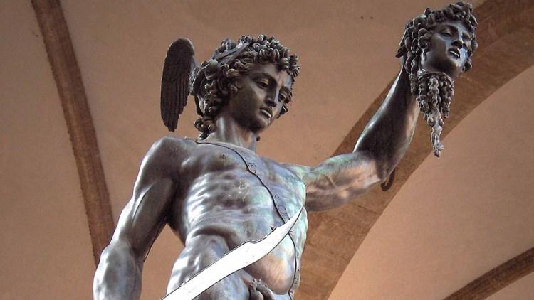 Perseo di Benvenuto Cellini a Firenze