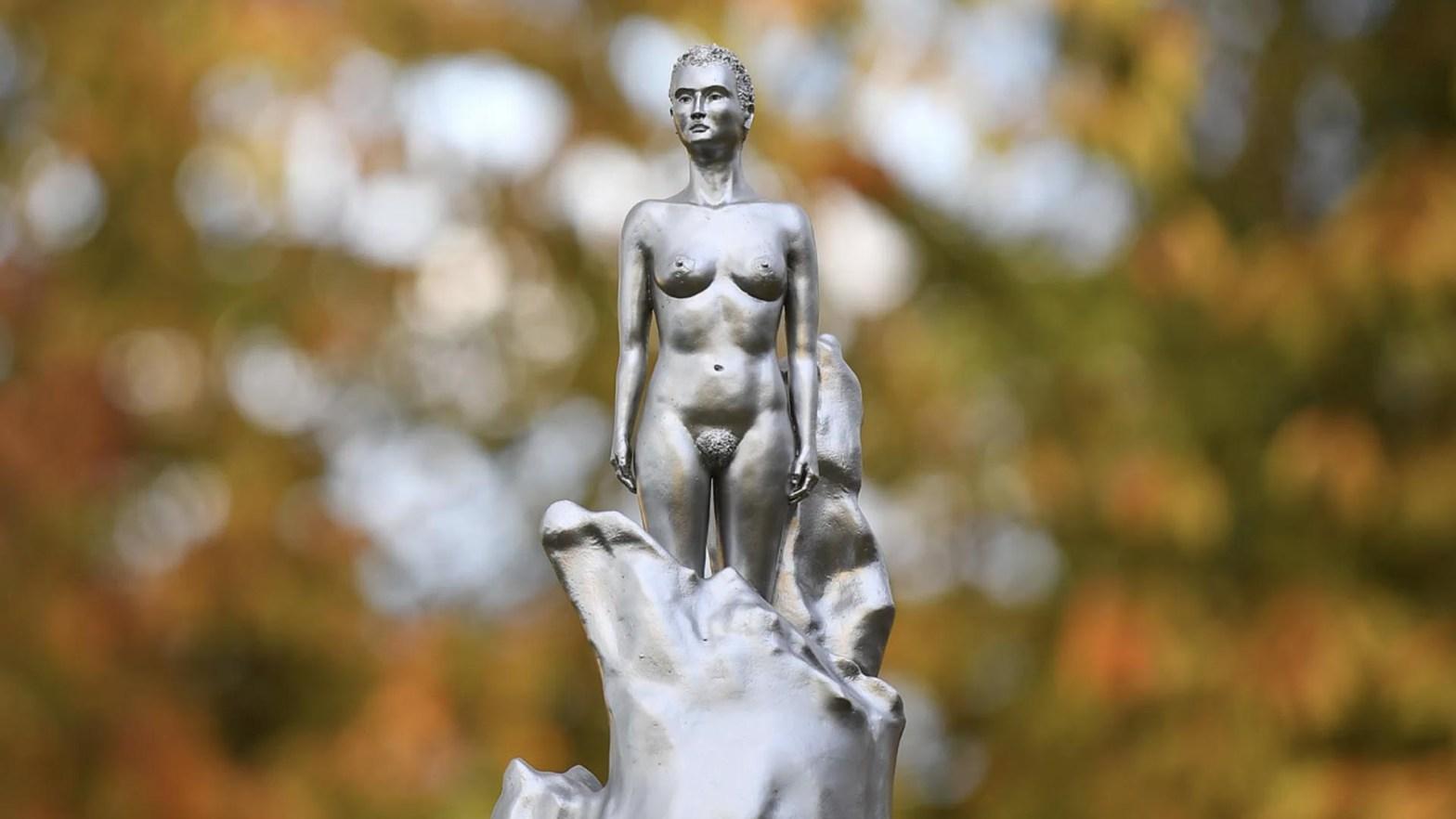 mary wollstonecraft statua maggi hambling