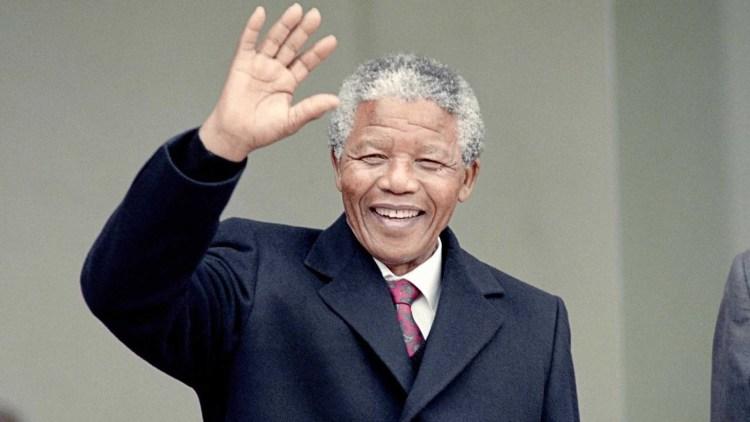 Il presidente Nelson Mandela