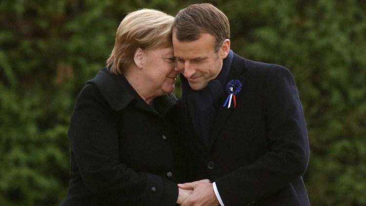 Merkel e Macron per il centenario della Prima Guerra Mondiale