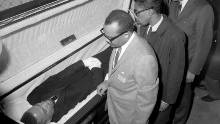 Il funerale di Malcolm X ad Harlem