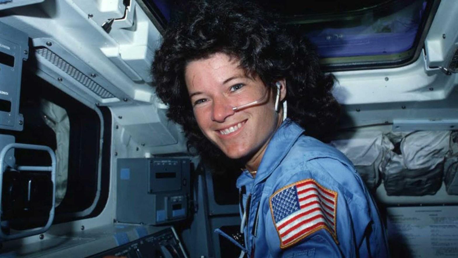 L'astronauta Sally Ride
