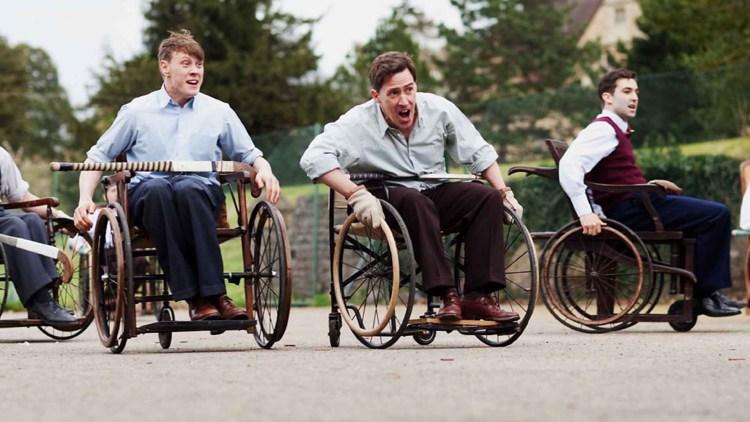 """I Giochi di Stoke Mandeville nel film """"Best of Men"""""""