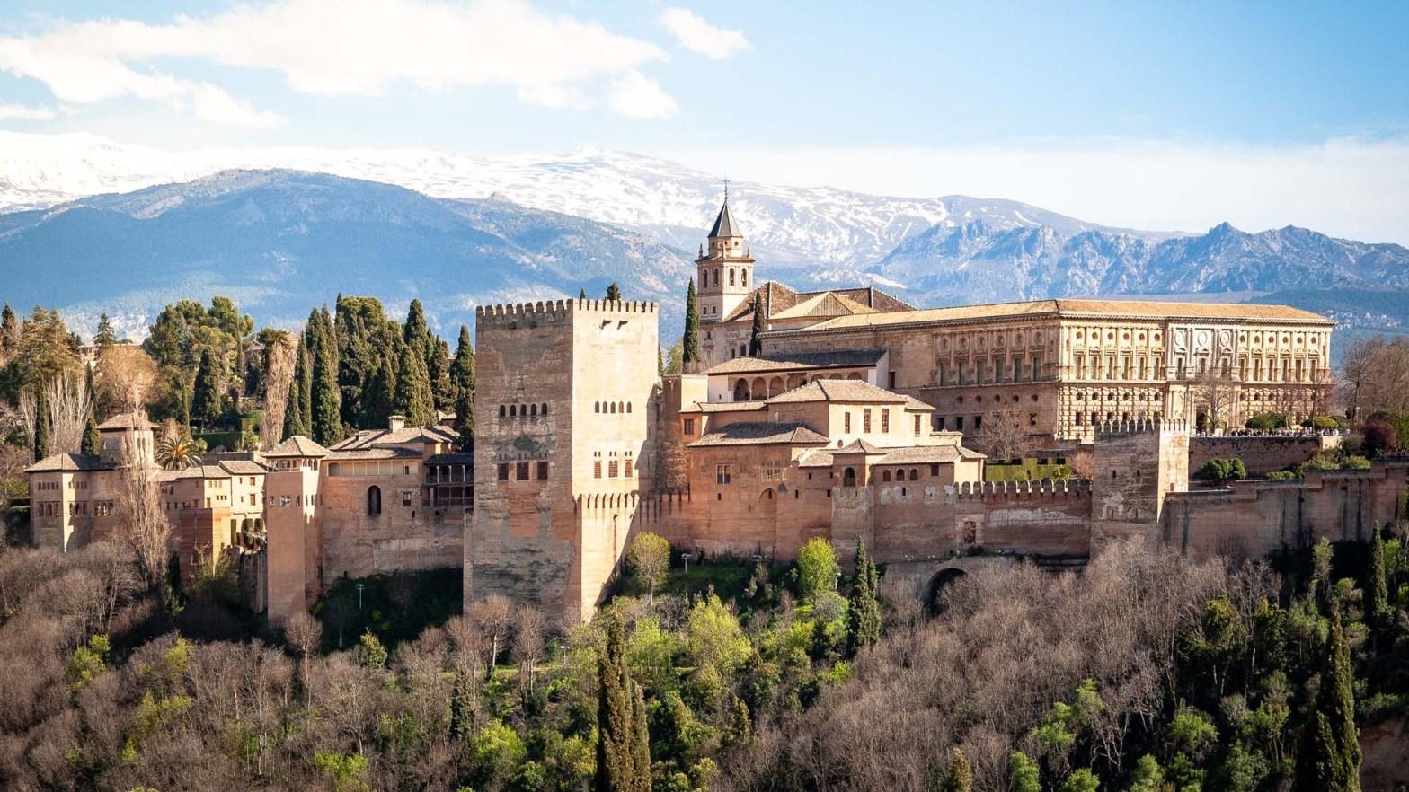 Alhambra di Granada in Spagna