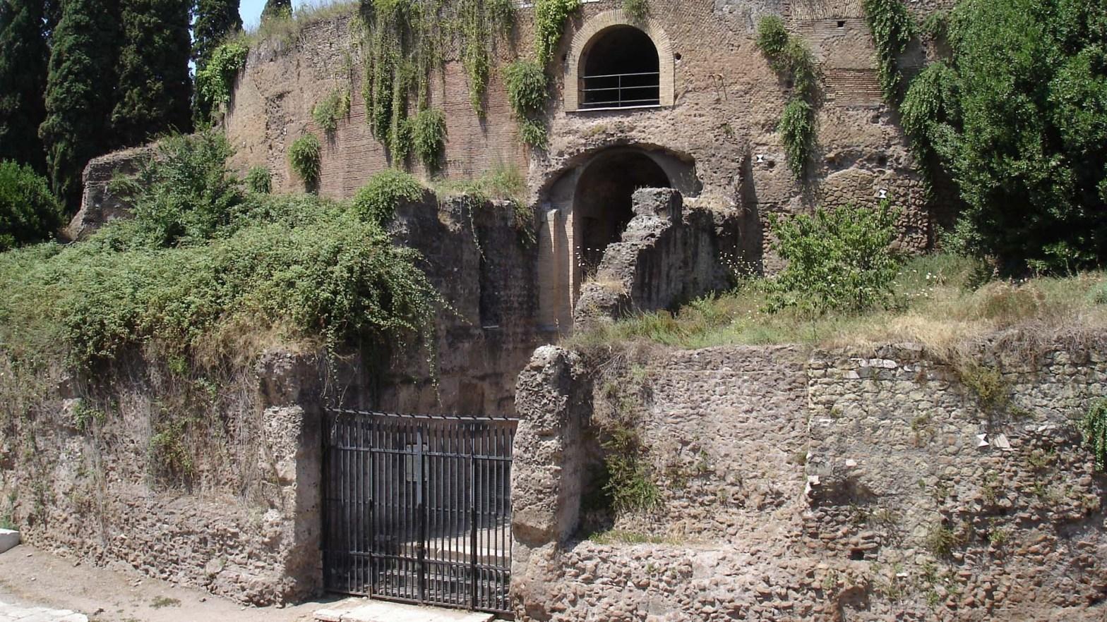Il Mausoleo di Augusto a Roma, in Italia