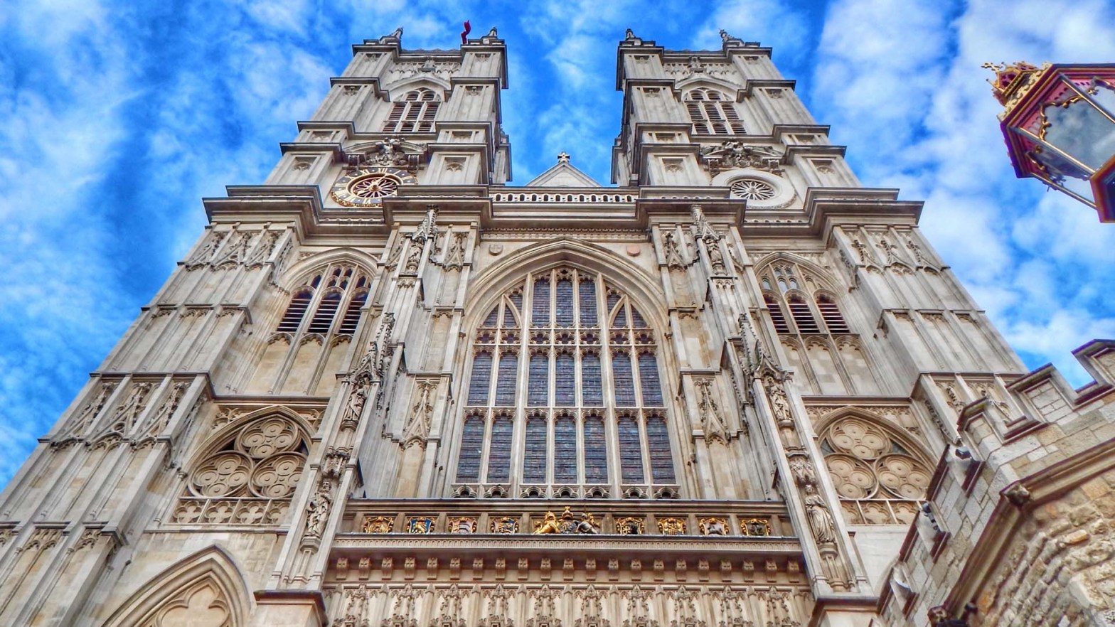 L'Abbazia di Westminster a Londra, in Inghilterra
