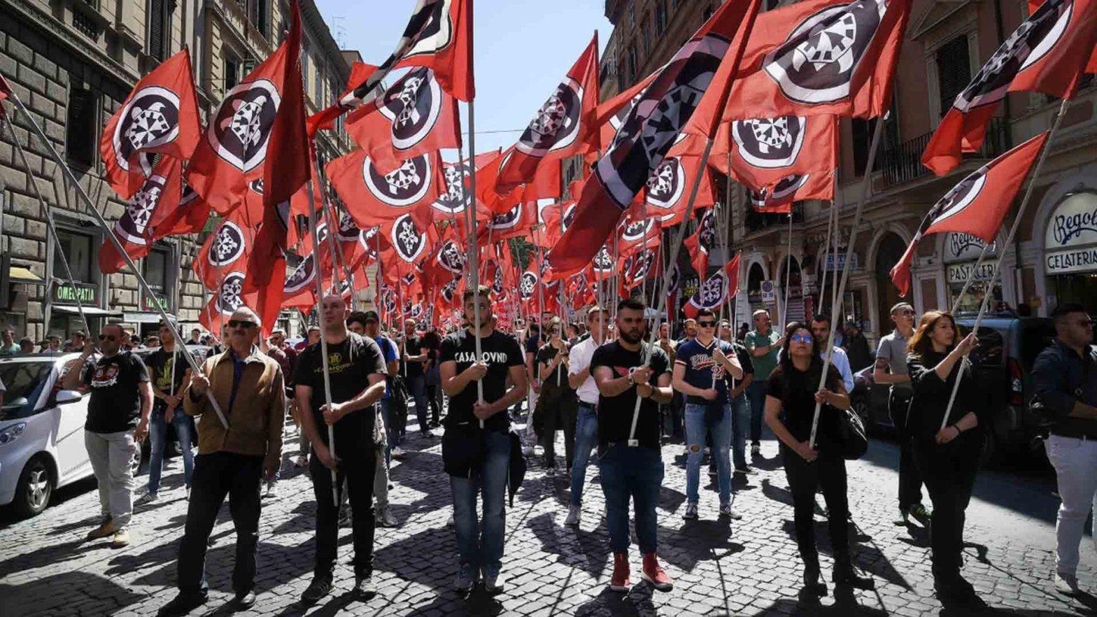 Forza Nuova e i partiti neofascisti