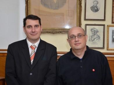 Cătălin Vasile și Marius Silveșan - resized