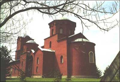 Црква Светог Спаса у манастиру Жича