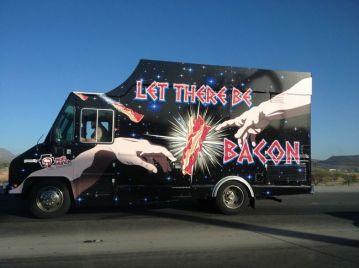 Em Cleveland (EUA), o 'Let There Be Bacon' pode ser considerado o paraíso dos amantes do bacon…