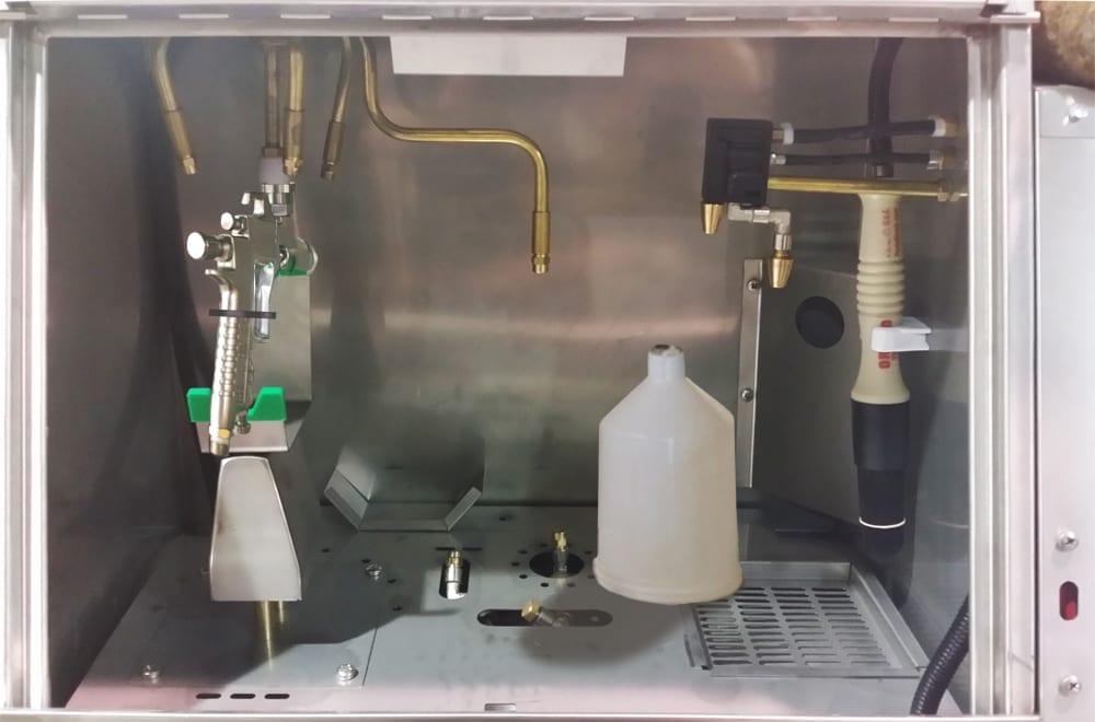 GWMA 600 TWIN Spray Gun Cleaner AutoManual Station