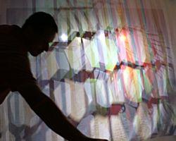 Istvan Seidel, Künstler als Gestalter der Welt, Lichtkunst, farbige