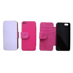 iPhone 5 Flip Case Pink