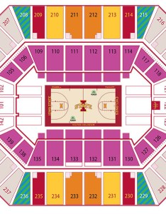 Image also facility seating charts iowa state university athletics rh cyclones