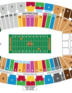 Jack trice stadium seating chart also facility charts iowa state university athletics rh cyclones