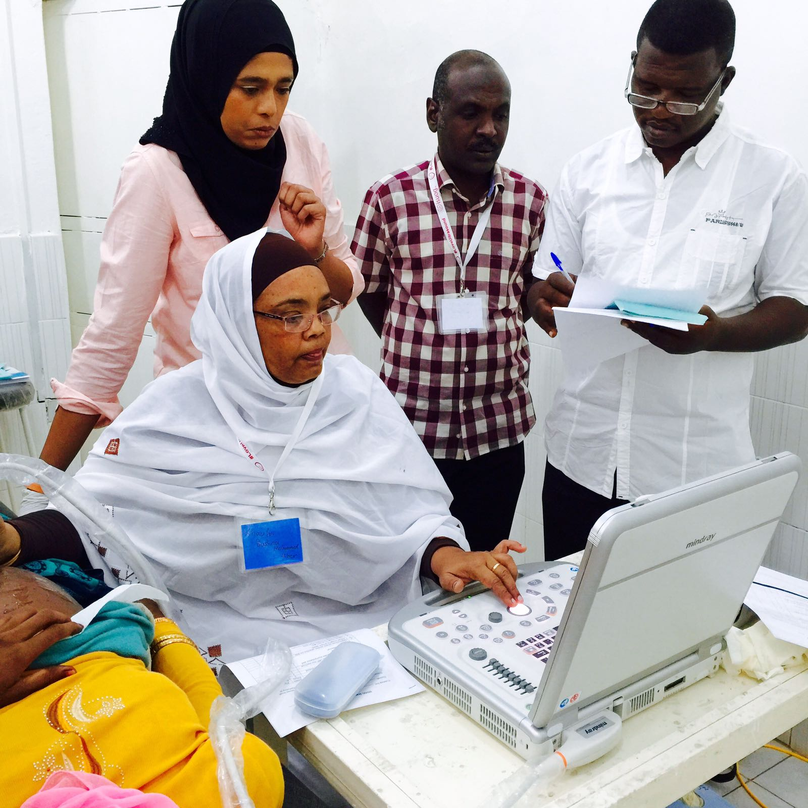 Day 2 In Sudan Practical Training Isuog Outreach