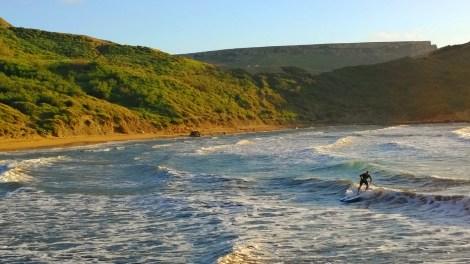 iSUP Wellenreiten